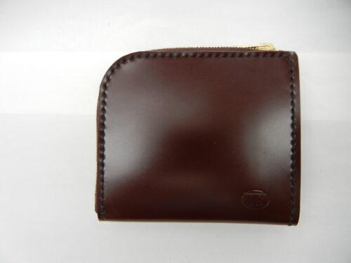 コードバン L型ファスナー 財布 17.000円