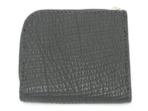 サメ革  L字型ファスナー 財布17,000円