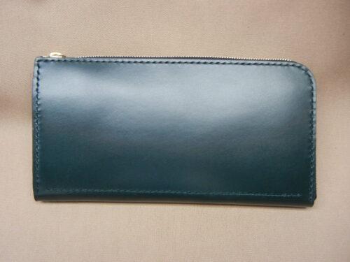 L型ファスナー長財布ブライドルレザー45,000円